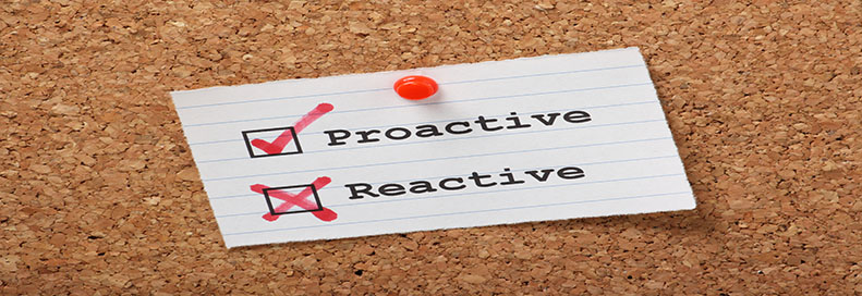 Proactive IT outsourcing provider vs. reactive ad-hoc provider