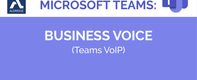 Microsoft Teams Business Voice